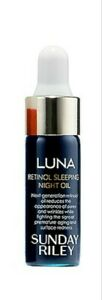 Sunday Riley Luna Sleeping Night Oil Travel Size New .17oz
