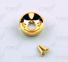 Telecaster ® Elecstrosocket aftermarket jack plate , HJ010, Gold with screws