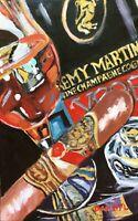 Original Cigar Remy Martini Cognac Art PAINTING DAN BYL Contemporary 19x12 inch