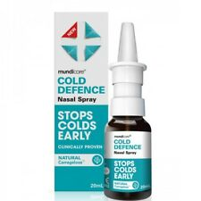 Cold Defence Nasal Spray STOPS COLDS EARLY 20ml Natural
