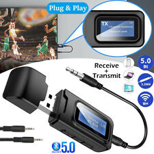 Bluetooth Transmitter Empfänger Sender Wireless AUX Audio Adapter TV Kopfhörer