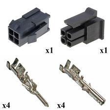 Kit Connettore Micro Fit Maschio Femmina 2x2 Vie