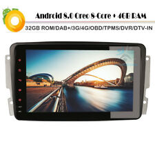 "8""Android 8.0 Touchscreen Navigation GPS 4G DAB+Autoradio Mercedes CLK C209 W209"