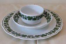 MEISSEN Porcelain Full Green Vine Pattern Set