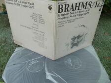 BRAHMS: Symphonies n°1 & 2 > Polish Radio SO Wislocki / Polskie Nagrania stereo