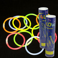 "200 8"" GLOW STICKS NEON BRACELETS RAVE LIGHT FAVORS PARTY BIRTHDAY 4th of July !"