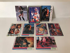 FUTURISTIC WARRIORS Complete Nude Card Set w/ Chase, CORY LANG AUTOGRAPH +PROMOS