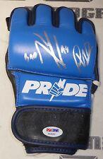 Phil Baroni Signed Pride FC MMA Glove PSA/DNA UFC 30 39 41 45 Bushido Autograph
