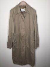 MAISON MARTIN MARGIELA beige trench coat jacket 3 ways to wear size 6