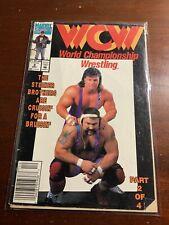 WCW World Championship Wrestling Marvel Comics #9 December 1992 Vtg Comic Book