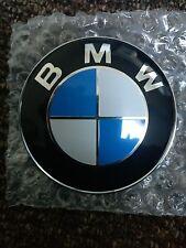 BMW 1 3 5 6 7 Z3 X6 X5 Serie E Frontal Capó trasero con el logotipo de Arranque Insignia Emblema 82mm