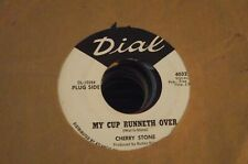 CHERRY STONE he walks softly DIAL 4032 northern soul promo WLP 45 glossy EX