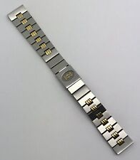 Authentic Cartier Santos Gordon 16mm 18K Yellow Gold & Steel Bracelet OEM NOS