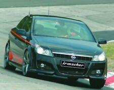 Irmscher calandra con barra de acero inoxidable y marco lackierbarem Opel Astra H 06