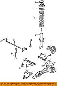 Acura HONDA OEM 90-93 Integra Rear Suspension-Hub 42200SK7A01