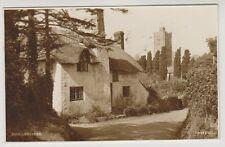 Somerset postcard - Luccombe - RP - P/U 1939
