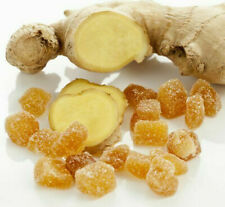 Candied Ginger - Crystallized Ginger Chunks 1kg Premium Quality