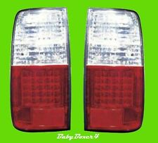 Toyota Landcruiser 80 Series LED Clear Tail Lights Taillights Right & Left Side