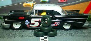 URETHANE SLOT CAR TIRES 2pr PGT-21093XD fit 57 Chevy Bel Air Plymouth Fury