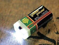 Pak-Lite 9V LED Flashlight SUPER Outdoor Travel Emergency Battery Night Light