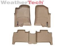 WeatherTech Floor Mats FloorLiner for Hummer H3 - 2006-2010 - Tan