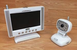 """Summer Infant Day & Night 7"""" LCD Flat Screen Color Video 900MHz Monitor **READ**"""