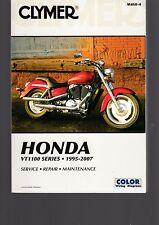 HONDA VT1100 SERIES 1995 TO 2007 CLYMER SERVICE REPAIR MAINTENANCE MANUAL