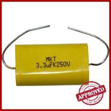 Condensatore per Tweeter 3 3 uF 250 V in Poliestere. Condensatori Masterline
