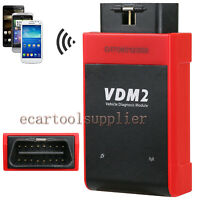UCANDAS VDM2 OBD2 WIFI Full System EUC VIN Pin Code Reader Scanner for Android
