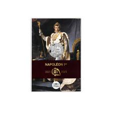 FRANCE 10 Euros Argent Bicentenaire Disparition Napoléon 1er 2021 UNC