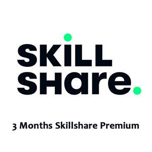 Skillshare 3 Months Premium Subscription   Private