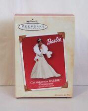 Hallmark Keepsake Ornament Celebration Barbie African American 2003 (H15)