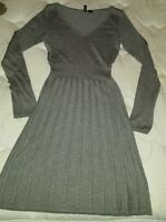 Divided by H&M gray sweater dress size 4