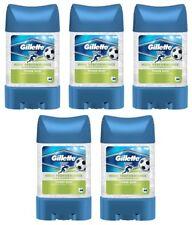 5x Gillette Sport Power Rush Anti-perspirant Deodorant Clear Gel for Men 5x70ml
