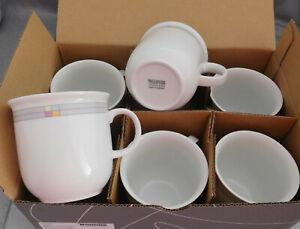 Thomas TREND Derby 6 Kaffeebecher groß 0,36 L. Neuware & Ovp Becher