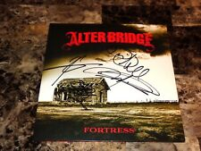 Alter Bridge Signed Fortress Vinyl Record Mark Tremonti Myles Kennedy Creed COA