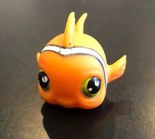Littlest Pet Shop LPS #130 Orange Clown Fish