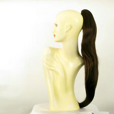 Hairpiece ponytail long 27.56 chocolate copper wick 5/l6h30 peruk