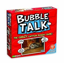BUBBLE TALK THE CRAZY CAPTION BOARD GAME - UNIVERSITY GAMES