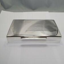 wunderschöne gr. elegante Schatulle aus Sterling Silber 925 punziert 1025g