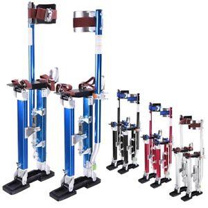 """18-30"""" Adjustable Aluminum Plastering Stilts Drywall Tools Painter Builders"""