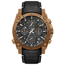 Bulova Precisionist Champlain Carbon Fiber Dial Chronograph Quartz Watch 97B188