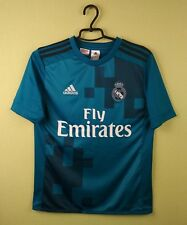 Real Madrid kids jersey 2017/2018 3rd Third adidas soccer Yout 13-14 years/164