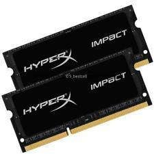 16GB 2x 8GB DDR3L PC3L-12800S 1600 Mhz 204pin HyperX IMPACT SODIMM Laptop Memory