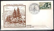 1978-Fdc 1°Jour-Hommage aux Resistants Corréziens -19.Egletons -Timbre - Yv.1335