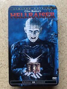 Hellraiser 1 + 2 Anchor bay Limited Edition Tin Box