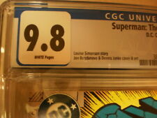 SUPERMAN MAN OF STEEL 18 CGC 9.8 NEWSSTAND DOOMSDAY 1ST FULL APPEARANCE
