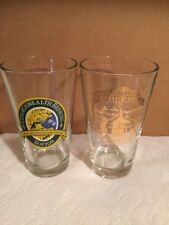 The Commonwealth Brewing Co Set Of 2 Pint Beer Glasses, Boston, MA
