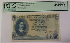 (1962-65) South Africa 2 Rand Reserve Bank Note SCWPM# 105b PCGS EF-45 PPQ A