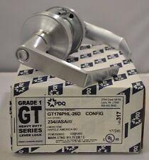 """PDQ COMMERCIAL LOCKSET GT PHL 176 PRIVACY 2 3/4"""" BACKSET"""